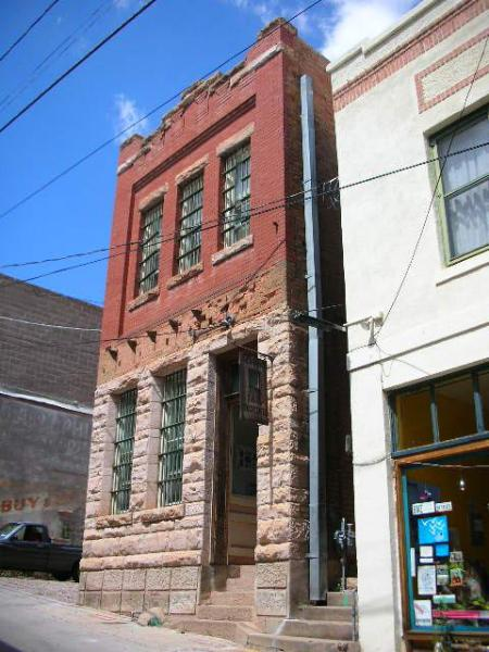 OK Street Jail Exterior - OK Street Jailhouse - Bisbee - rentals