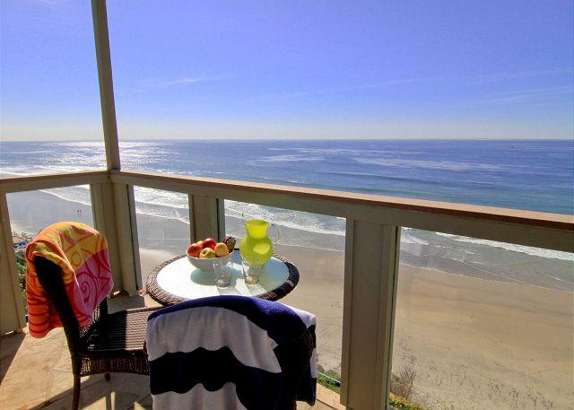 Oceanfront rental with 7br, 5ba, private spa, patio, endless ocean views - Image 1 - Encinitas - rentals