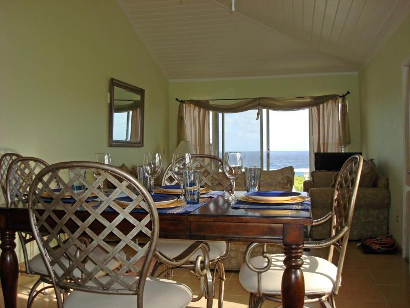 Kitchen view - Rainbow Bay Breezy Ocean Front Home Lots of Extras - Governor's Harbour - rentals