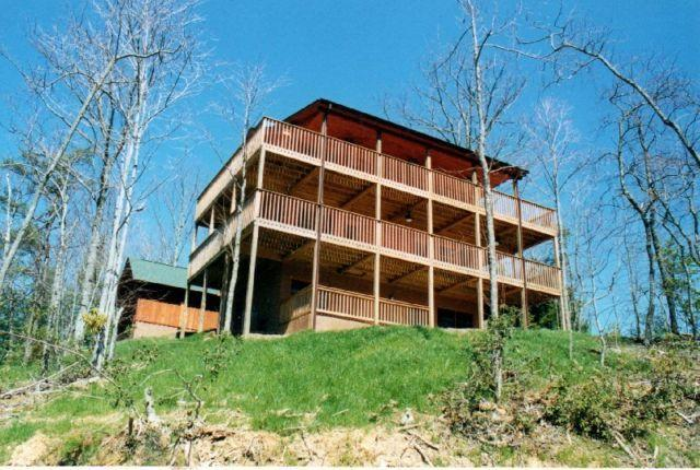 GrandviewCabin - Grand View - Smoky Mountains views - Gatlinburg - rentals