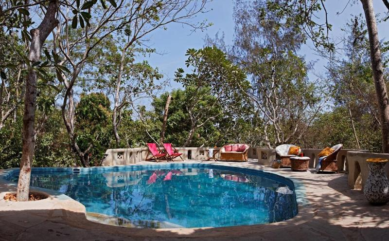 Stunnng Swimming pool at the apartment - One Bedroom Apartment with Pool on Beach property - Diani - rentals