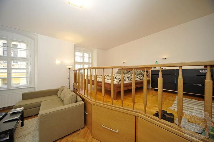 sleeping area - Modern Old Town Studio 100m Charles Bridge - Prague - rentals