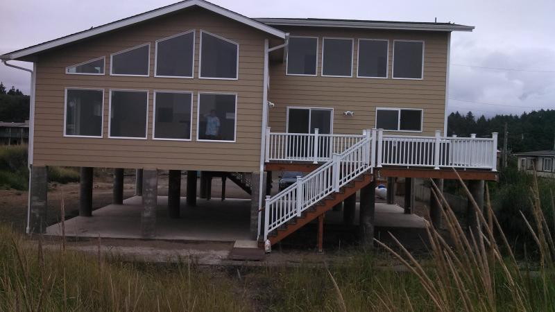 From the beach - Lycan House - Moclips - rentals