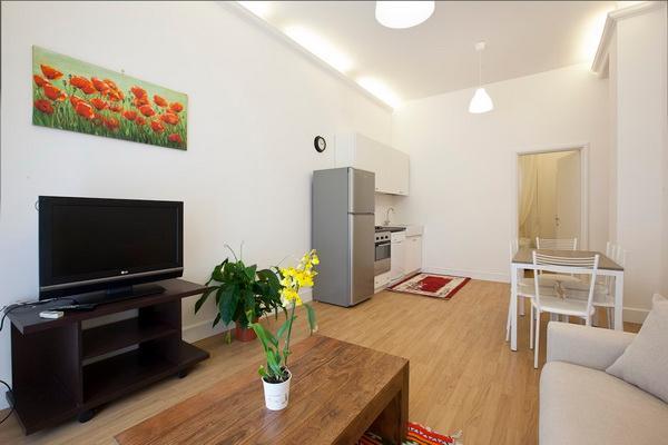 Living room - Piazza Bologna Deluxe - Rome - rentals