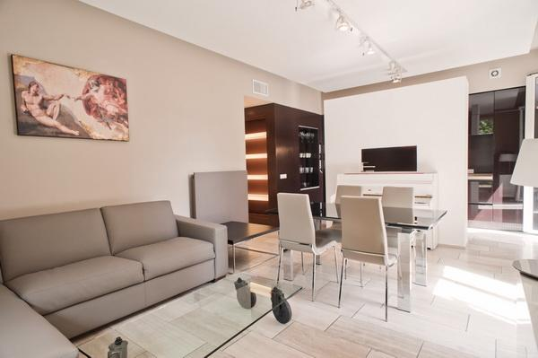 Living room - Vatican Deluxe - Rome - rentals