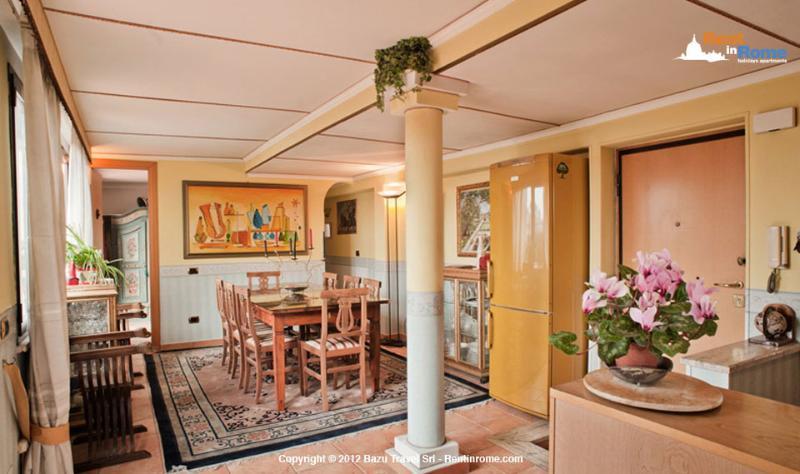 Living room - CUPOLA - Rome - rentals