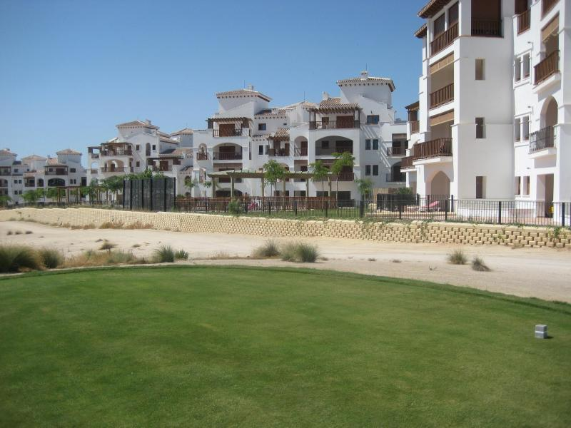 VIEW OF GOLF COURSE AND APARTMENT - El Valle Golf Resort - Banos y Mendigo - rentals
