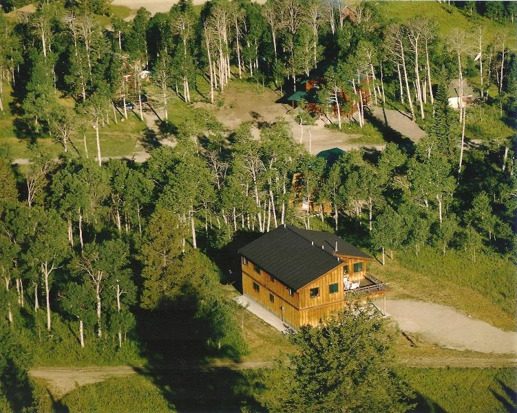 Moose Crossing from the Air - Moose Crossing Yellowstone Home - Stunning Views - West Yellowstone - rentals