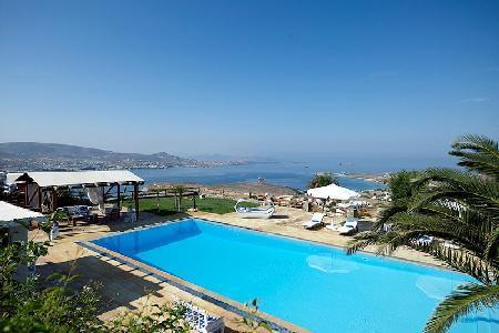 Elegant Villa Althea 2 on estate with serene sea views, chic terrace & pool - Image 1 - Parikia - rentals