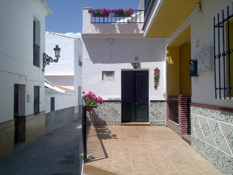 Front of Casa Sophia is single storey with large terrace - Delightful Village House in Torrox, Costa del Sol - Torrox - rentals