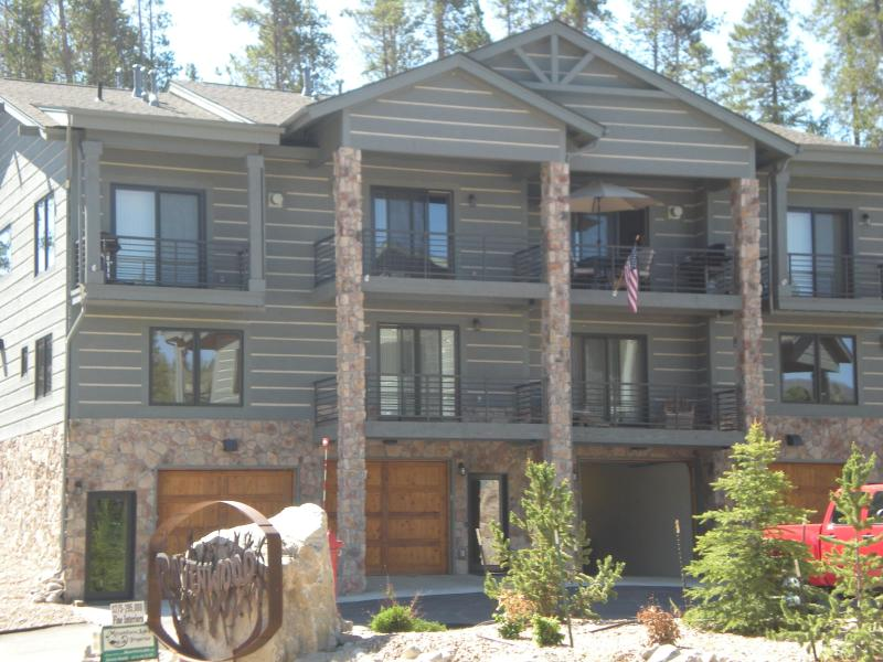 Front of Building - Luxury on Main St. in Grand Lake Village - Grand Lake - rentals
