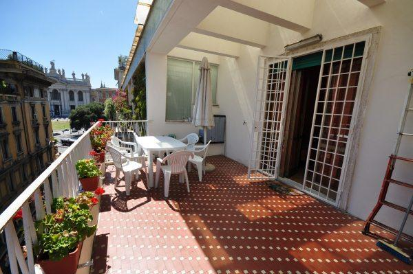 Terrazza bella.JPG - 4 bedroom central holiday home in Rome 8 people - Rome - rentals