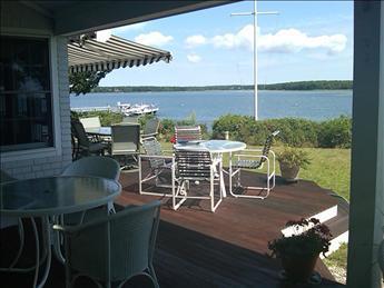 View from Deck - Mashpee Vacation Rental (96710) - Mashpee - rentals