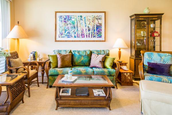 MARCH 4-11 & FOR 6 PEACEFUL REMODELED GRAND CHAMPION WAILEA WIFI/Res Parking - Image 1 - Wailea - rentals