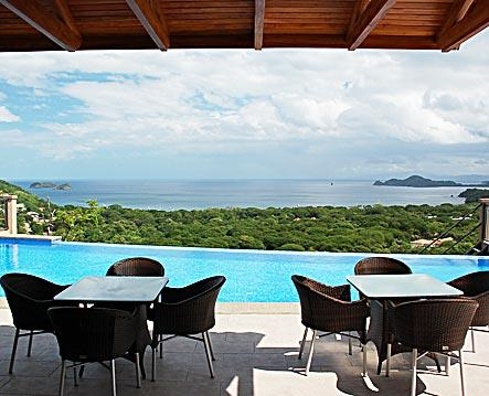 View from Patio - Casa Antonelli - Playa Hermosa - rentals