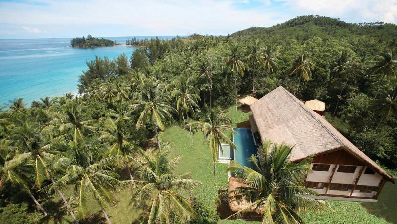 Villa from Air - Hibiscus Villa Borneo - Kota Kinabalu - rentals