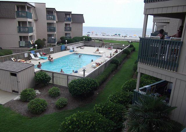 Pool - Peaceful Ocean View!  2 Bed/2 Bath-A Place at the Beach III Unit#B2B - Myrtle Beach - rentals