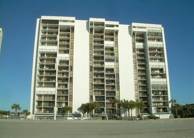 Cozy family friendly oceanfront unit@Brigadune Shore Drive Myrtle Beach SC#8A - Image 1 - Myrtle Beach - rentals
