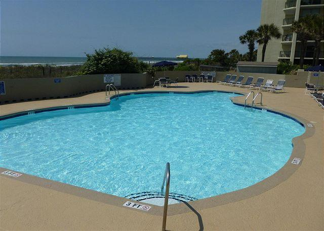 15% DISCOUNT!!  Ocean View!  North Hampton #1207, Kingston Myrtle Beach, SC - Image 1 - Myrtle Beach - rentals