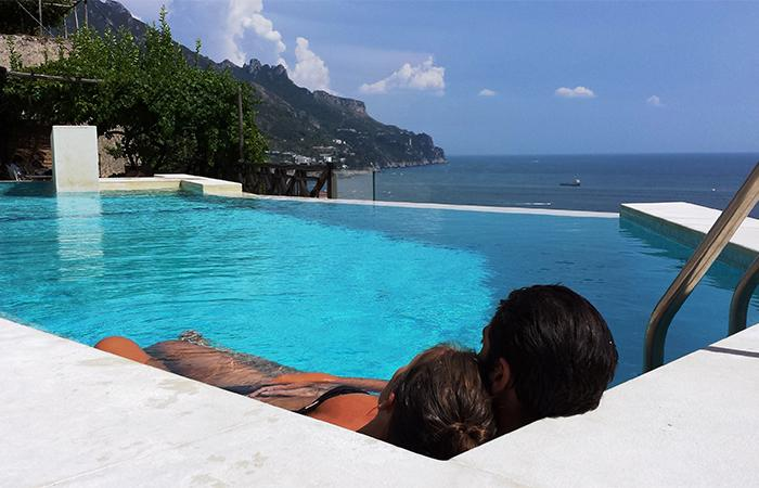 Infinity Pool - Limone - Sea View - pool - terrace with BBQ - Ravello - rentals