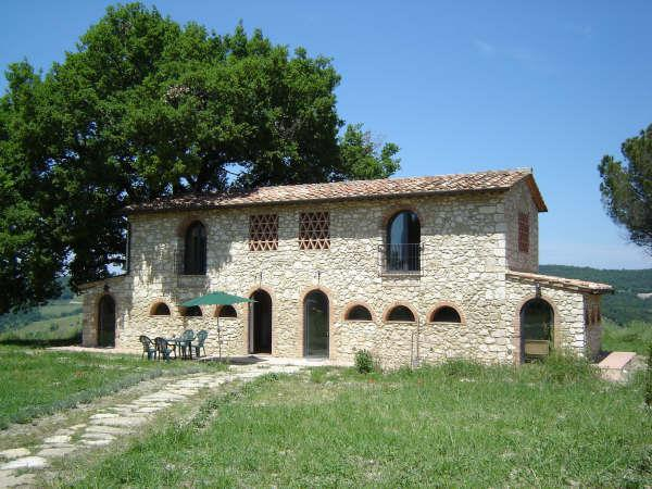 Front view holiday houses - Podere Grignano, beautiful Tuscany - Volterra - rentals