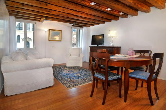 The living/dining room - Ca' Del Rio - Venice - rentals