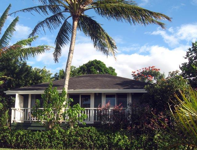 exterior1 - Maile Bungalow, License #BBPH2009-0012 - Haiku - rentals