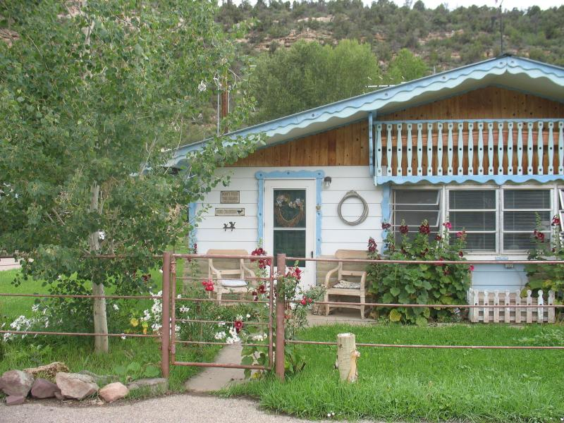 Front View of Cottage July 2010 - Lovely Country Home in Gorgeous Mountain Setting - Dolores - rentals
