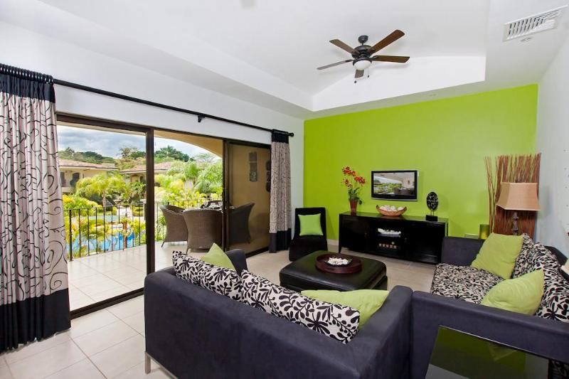 Amazing 2 BR condo in beautiful tropical setting - Image 1 - Playa Potrero - rentals