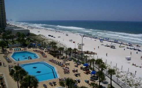 Pool - $395 Weekly fall Special Beautiful ! On the Beach - Panama City Beach - rentals