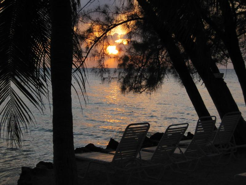 Rum Point Sunset - Barefoot Lagoon Island House - Grand Cayman - rentals
