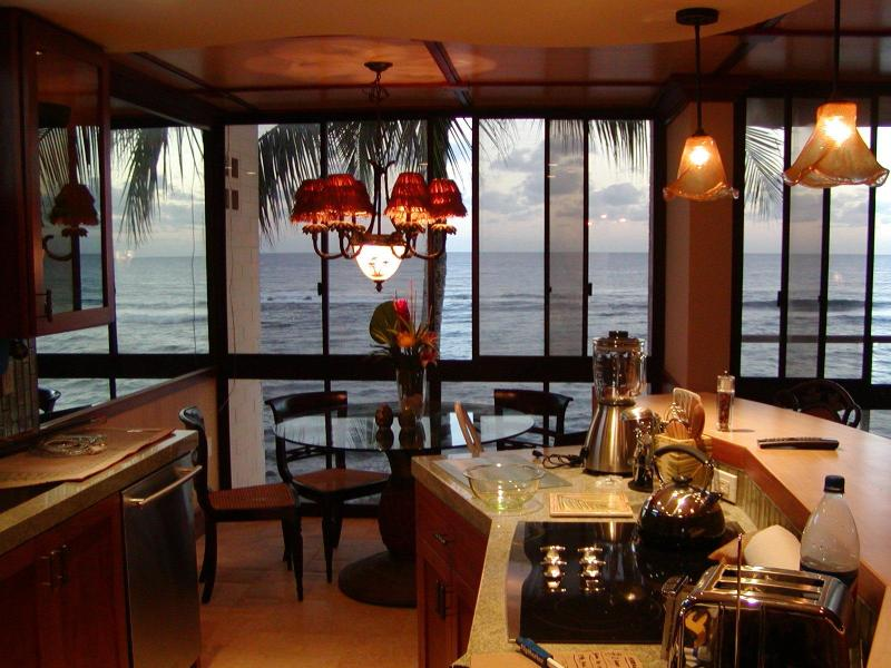 Only Blue Pacific Ocean views - Gorgeous OceanFront Honeymoon Suite @ Kuhio Shores - Poipu - rentals