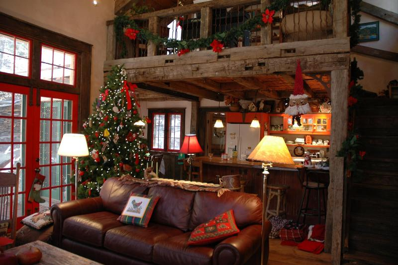 Tree provided for Christmas - Storybook Mountain Cabin near Santa Fe - Santa Fe - rentals