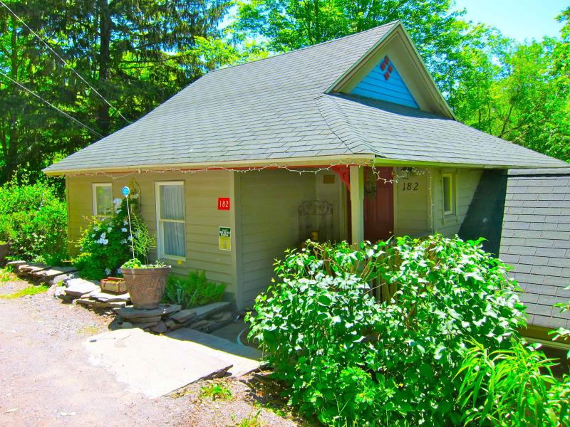 Front of house - Brookside House, Catskill Mtns., NY - Fleischmanns - rentals