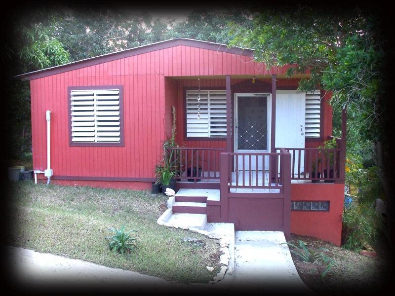 Front of Casa de Caribe - Best Deal on VQS-House+Car for 2ppl @ $135 per day - Vieques - rentals