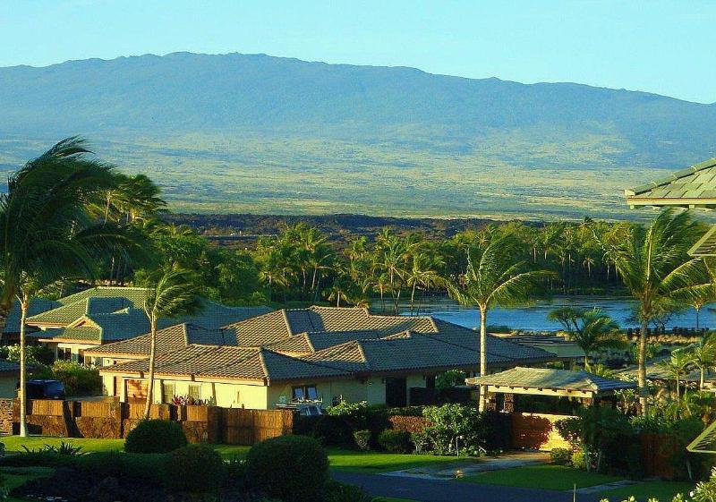 Lanai View of water and mountain.JPG - Award Winner  Kolea 11F Penthouse-Water & Mt. View - Waikoloa - rentals