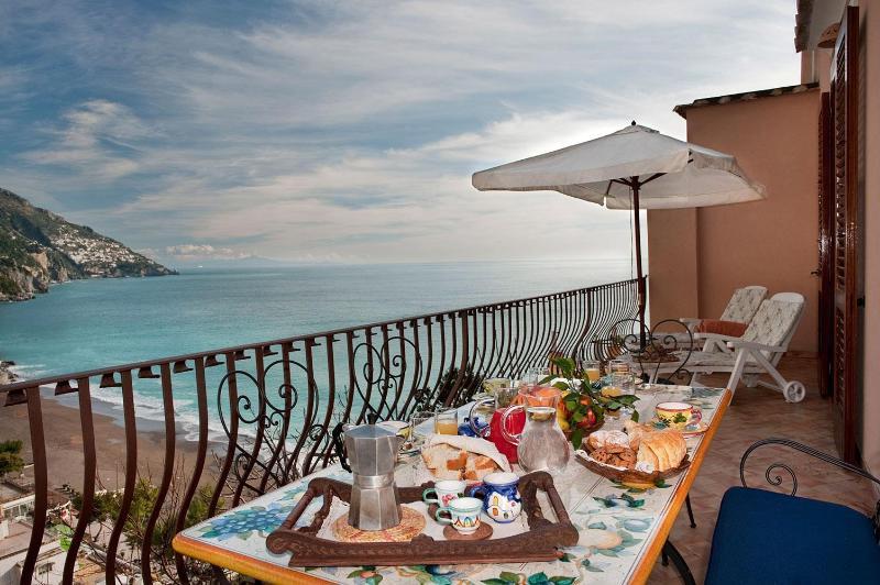 appartamenti positano villa le terrazze breakfast li - Villa le Sirene-shenic views of Positano & sea - Positano - rentals