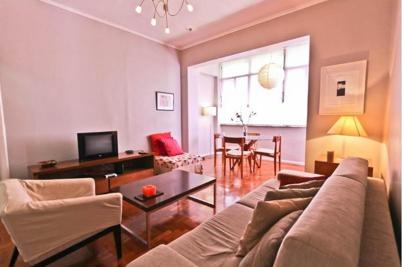 Nicely decorated living room - IPANEMA - 3 Bedrooms Apartment - Rio de Janeiro - rentals