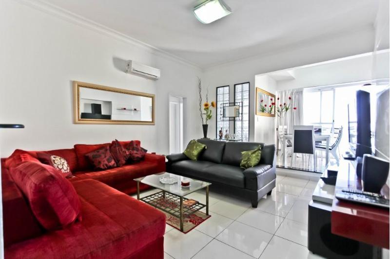 Living Room - COPACABANA - 2 Bedrooms Apartment & Veranda Copa - Rio de Janeiro - rentals