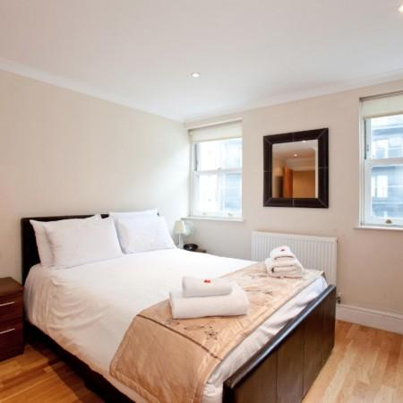Master Bedroom - South Bank Apartment at London Eye - London - rentals