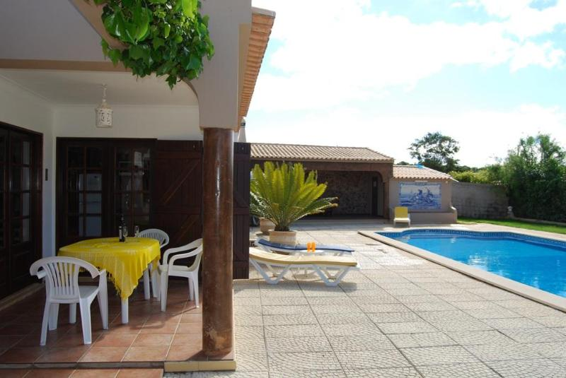 Terraces and Swimming-pool - VILLA  with Private  Gardens, Large Pool and Jacuz - Lagos - rentals
