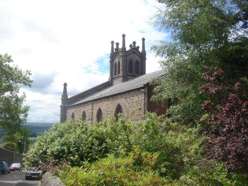 St Ninian's Church.JPG - The Church Tower - Crieff - rentals