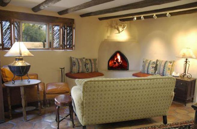 Living Area - Canyon Road Casa - Santa Fe - rentals
