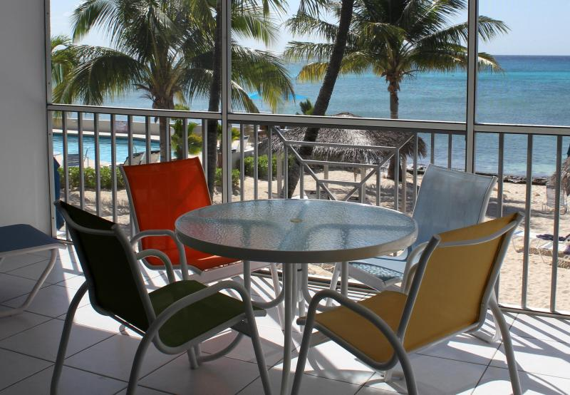 Oceanfront Lanai - Oceanfront 7 Mile Beach - Email for Specials! - Seven Mile Beach - rentals