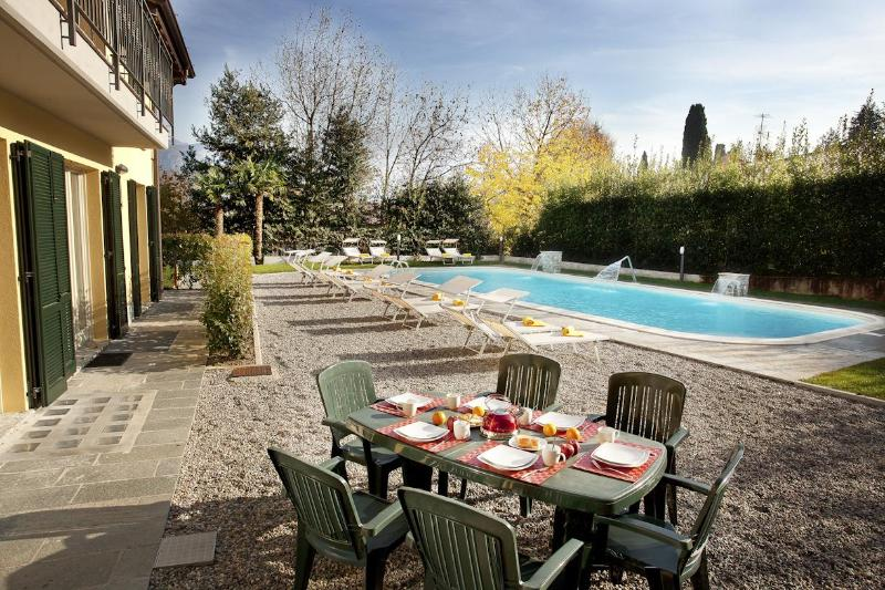 Patio - Residence Griante Apartment 4 - Como - rentals