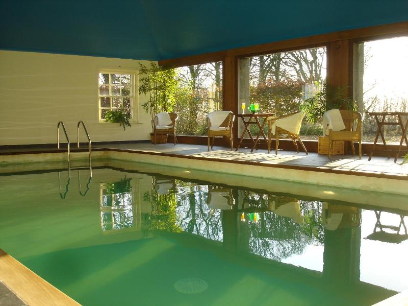 Indoor heated pool at House of Craigie - House of Craigie with Indoor Pool - Glasgow - rentals