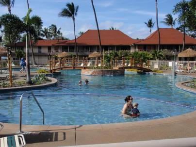 Beachfront Pool - Maui Kaanapali Villa A402,Beachfront,Oceanview,A/C - Lahaina - rentals
