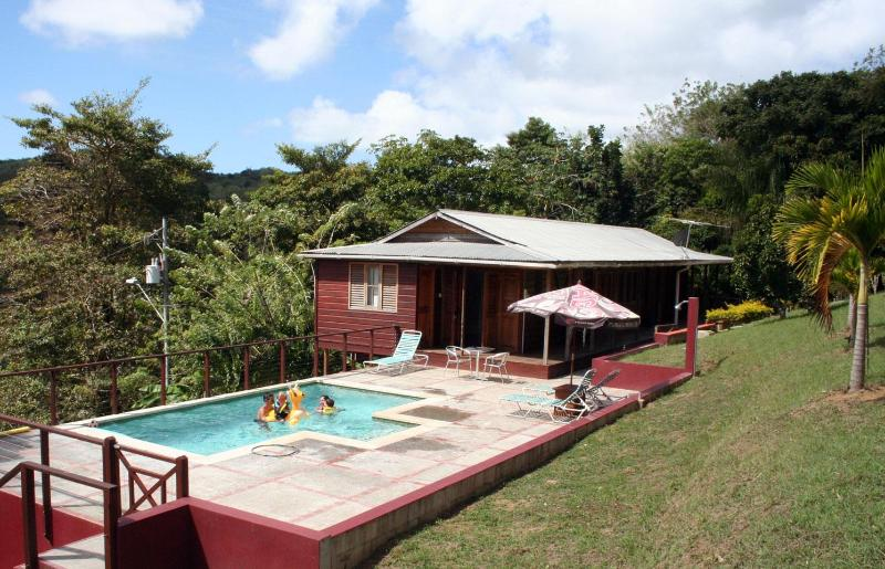 A wider persepective - Mary's Hill Lodge, Tobago - Tobago - rentals