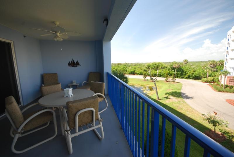 Balcony View - Oceanwalk 14-306 - New Smyrna Beach - rentals