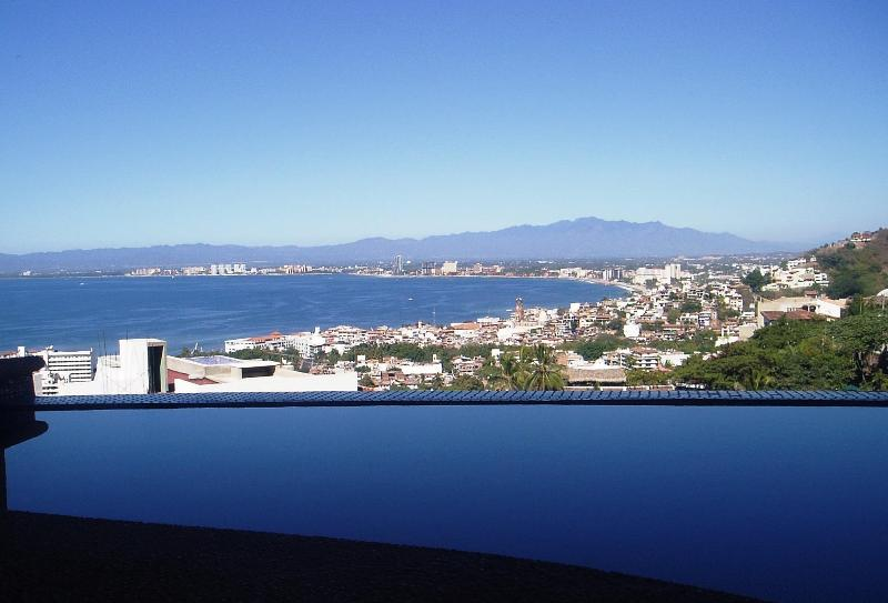 View from your private heated infinity dipping pool on terrace. - PV at it's Best! Plus details on deluxe Penthouse. - Puerto Vallarta - rentals